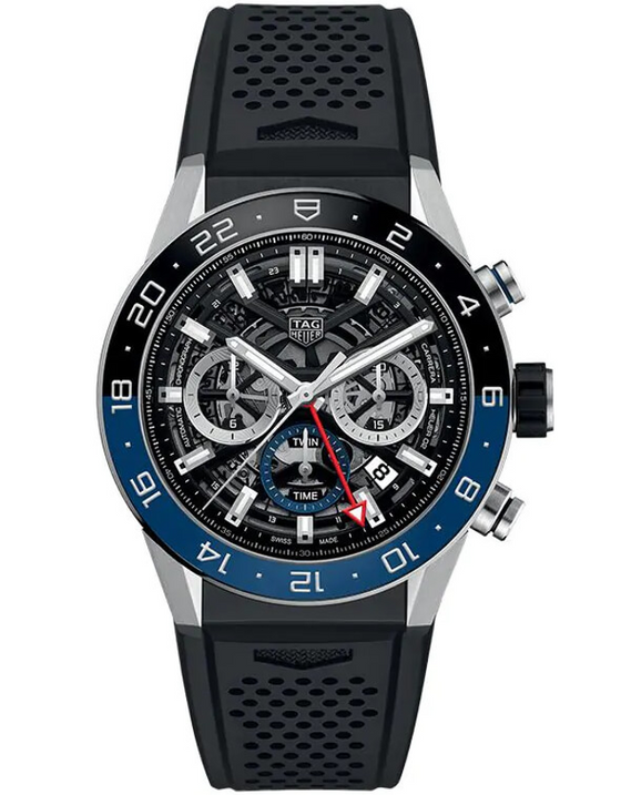 Tag Heuer Carrera Calibre Heuer 02 GMT 45mm Mens Watch
