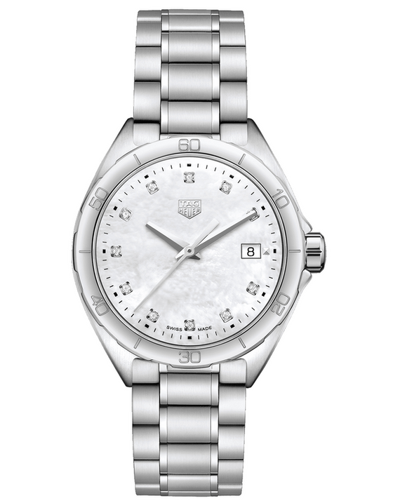 Tag Heuer Formula 1 Quartz White Mother Of Pearl Dial Women's Watch
