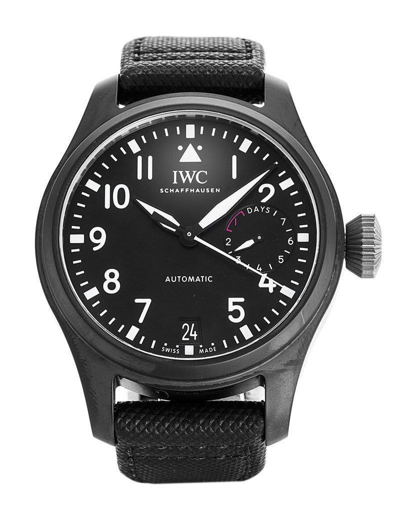 IWC Pilot's Big Pilot Top Gun Automatic Black Men's Watch