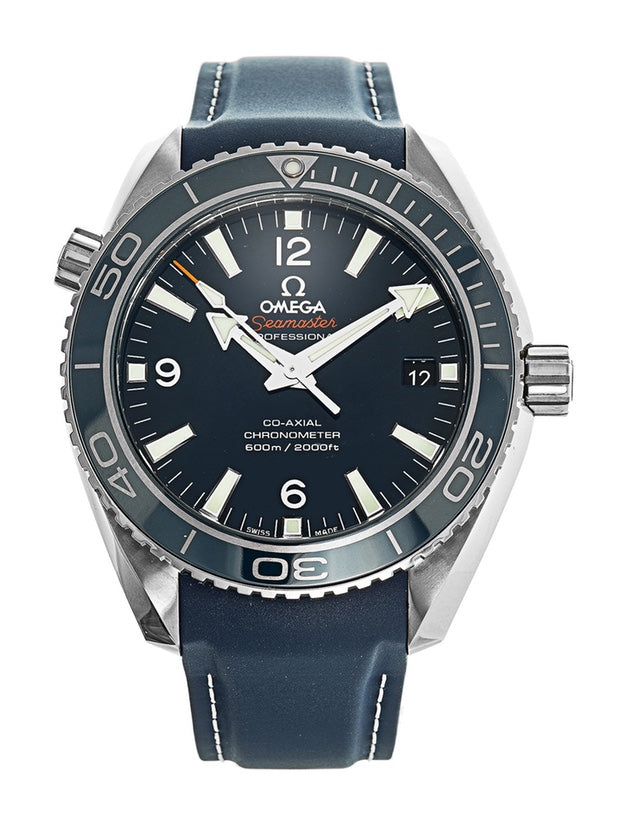 Omega Planet Ocean Titanium Co-Axial Blue Dial Men's Watch