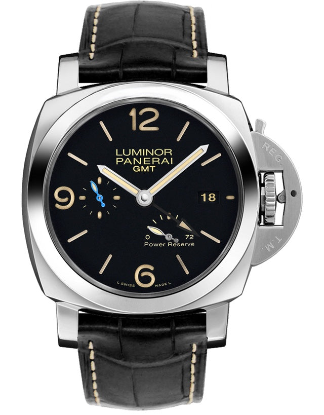 Panerai Luminor 1950 3 Days GMT Power Reserve Automatic 44mm Mens Watch