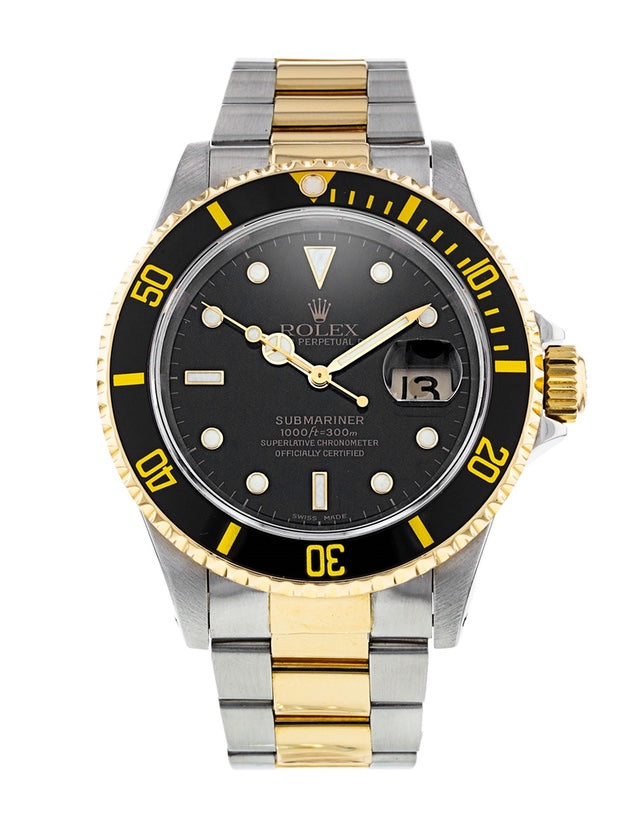 Rolex Submariner Stainless Steel & yellow Gold Men's Watch