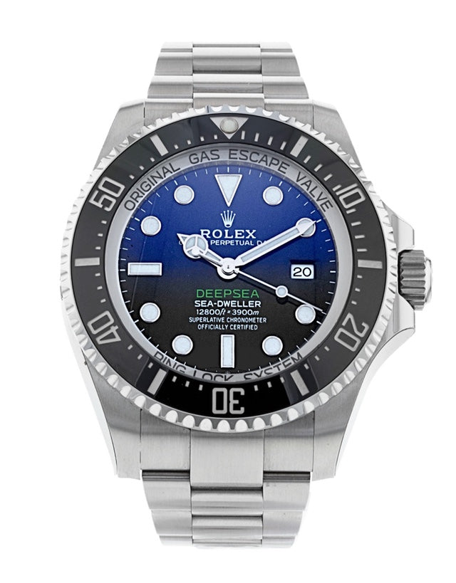 Rolex Sea-Dweller Deepsea Deep Blue Men's Watch