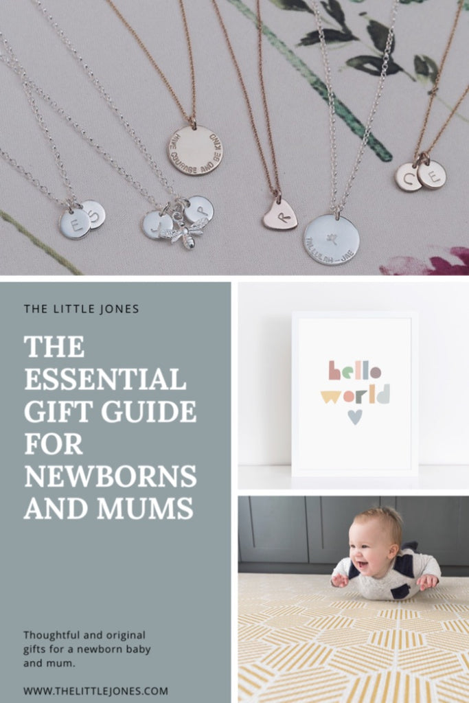 The Essential Gift Guide For Newborns and Mums