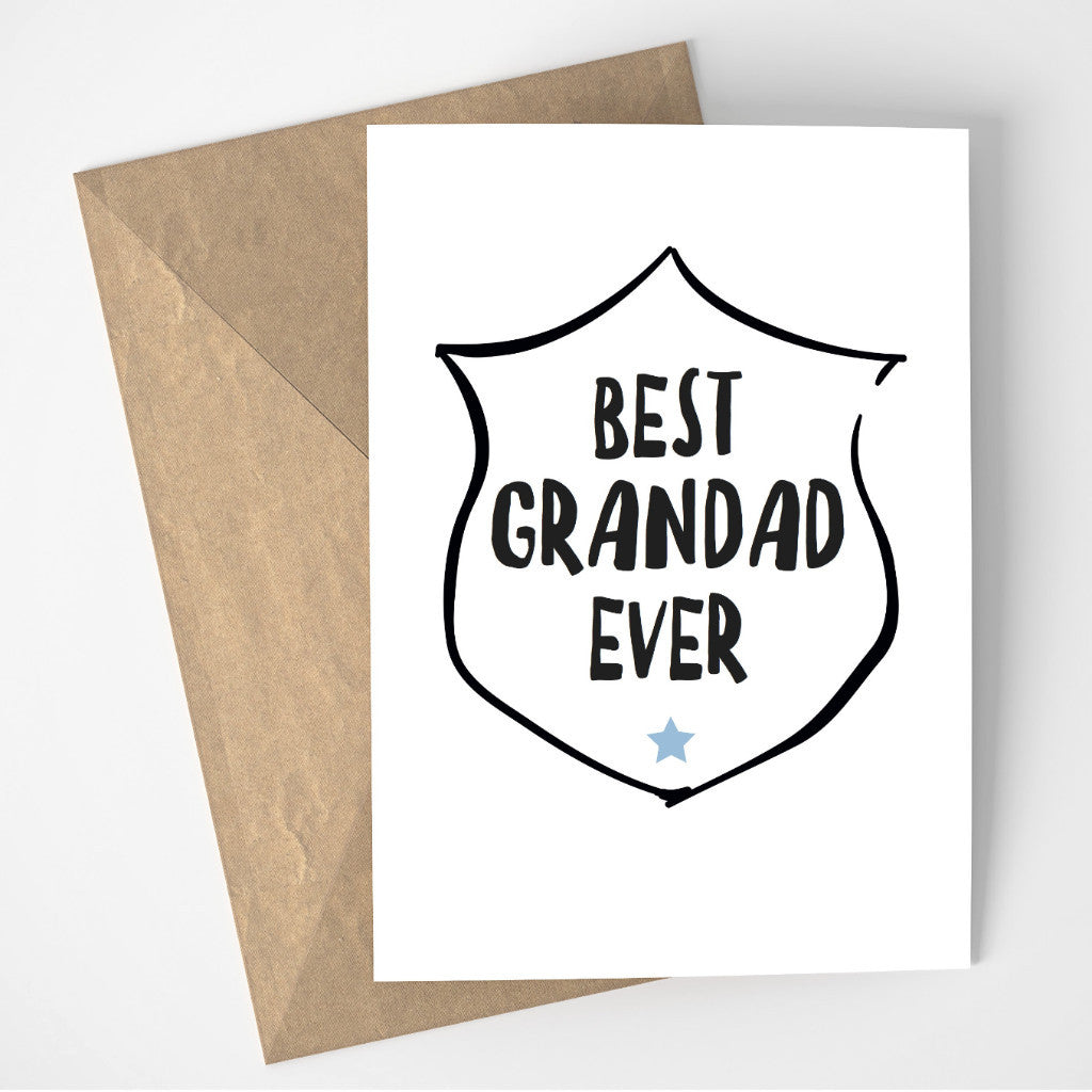 Best Grandad Ever card