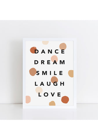 Dance Dream Confetti Boho