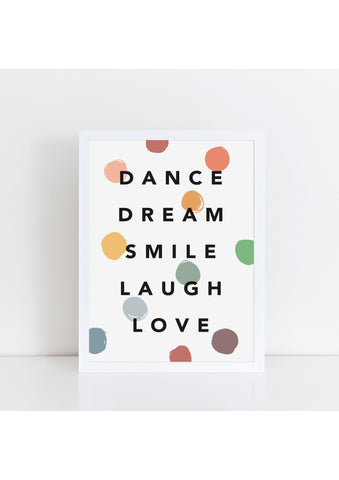 Dance Dream Confetti Muted
