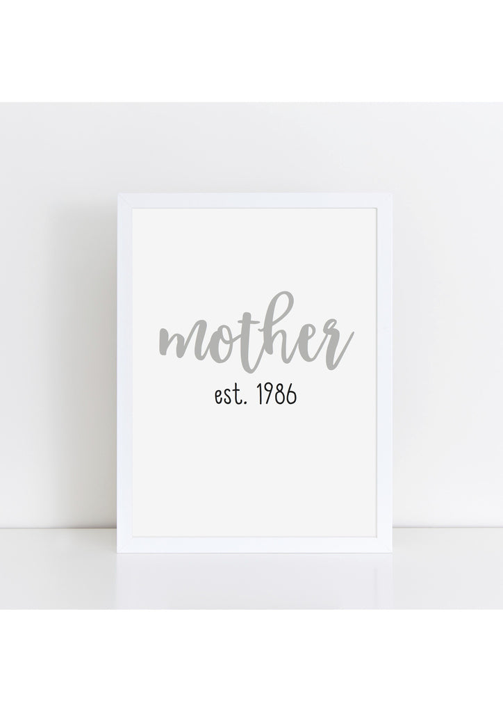 Mother est.