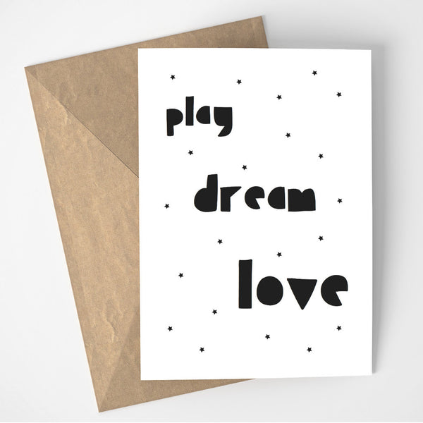 Play Dream Love card