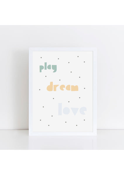 Play Dream Love - muted tones
