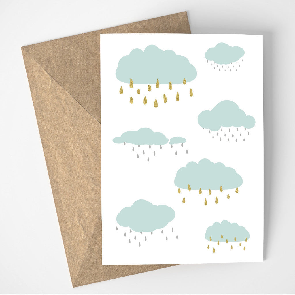 Rainy Days card