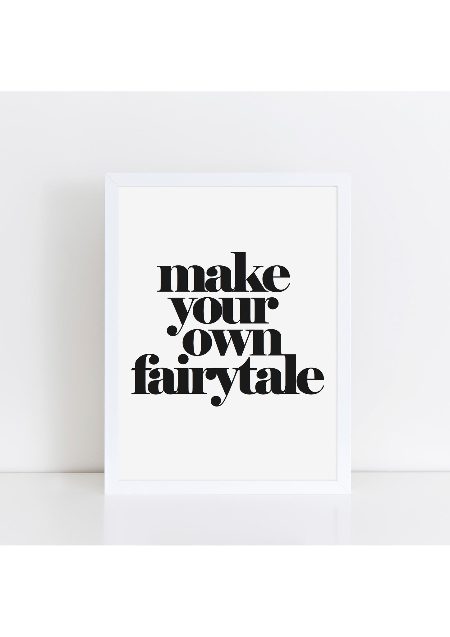 Make Your Own Fairytale Print