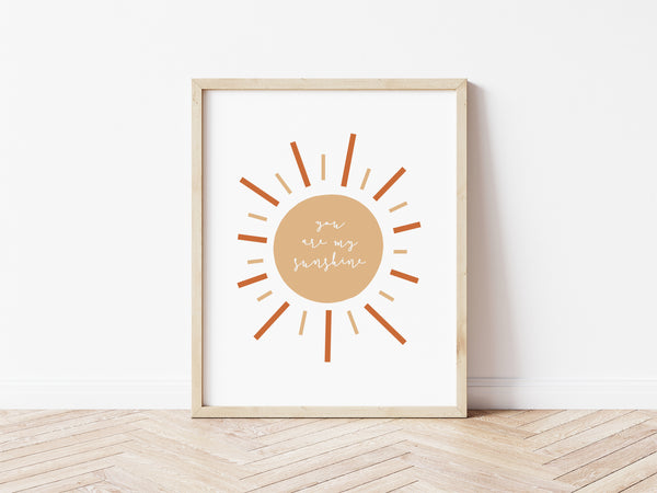 You Are My Sunshine - wicker