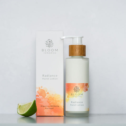 Radiance Organic Hand & Body Lotion with mandarin & bergamot
