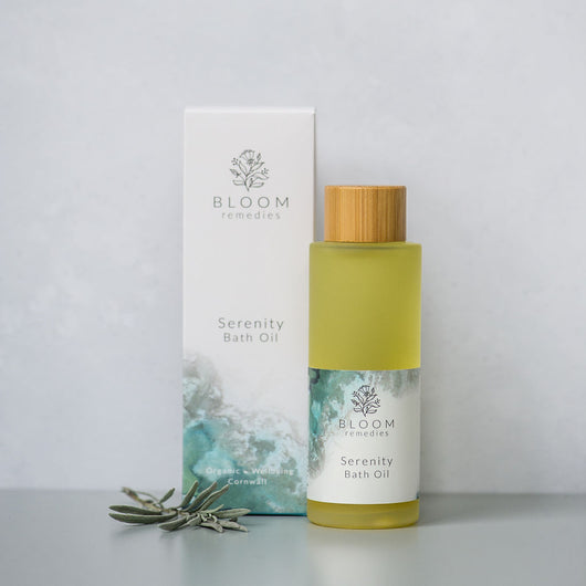Serenity Organic Bath Oil with ylang ylang & geranium