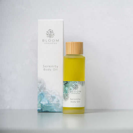 Serenity Organic Body Oil with ylang ylang & geranium