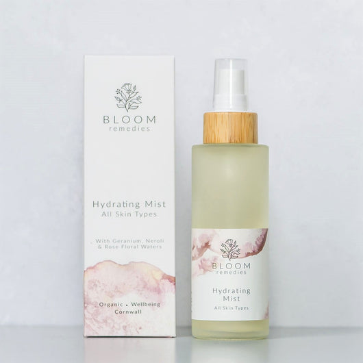 Hydrating Mist with rose water and neroli water