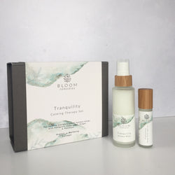 Tranquility Calming Aromatherapy Set with petitgrain & cedarwood