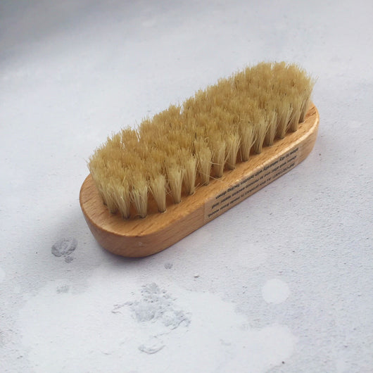 Wooden Foot File & Nail Brush