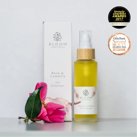 Organic Oil Cleanser with camellia and rose