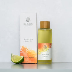 Radiance Organic Bath Oil with mandarin & bergamot