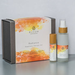 Radiance Happiness Therapy Set with mandarin & bergamot