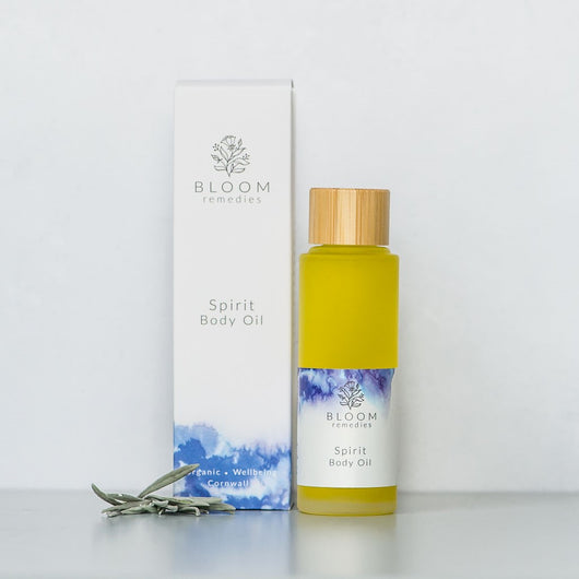 Spirit Organic Body Oil with clary sage & amyris