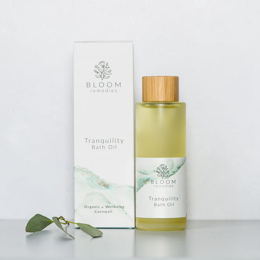 Tranquility Organic Bath Oil with petitgrain and cedarwood