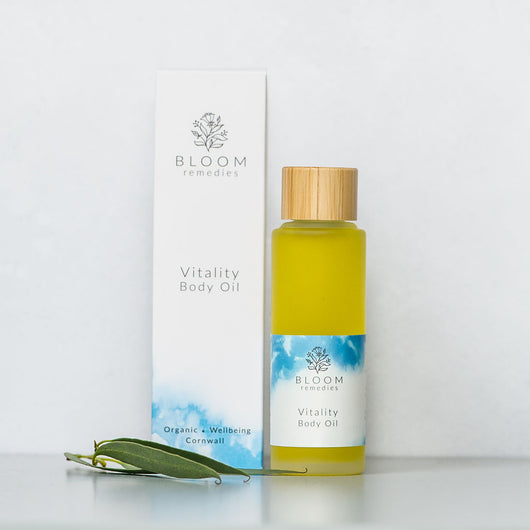 Vitality Organic Body Oil with Peppermint & Rosemary