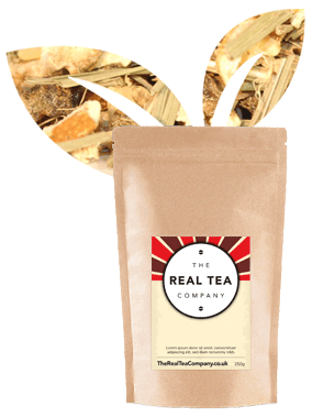 Ginger Root 'n' Lemon Herbal Tea