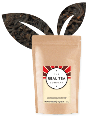 Decaffeinated English Breakfast Tea Pyramid Tea Bags