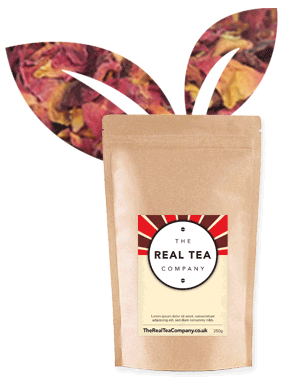Tuscany Rose Buds and Petals Tea