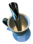 Stainless Steel Tea Infuser - Calla Lily Design