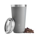 16oz Stainless Steel Coffee Cup - Grey