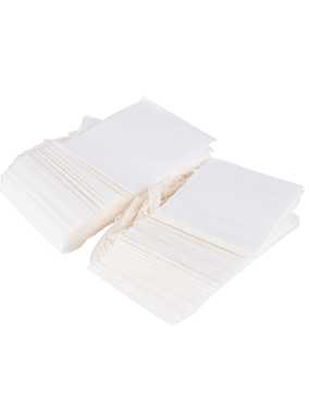 Fill Your Own Tea Bags - Non-woven Fabric with Drawstrings