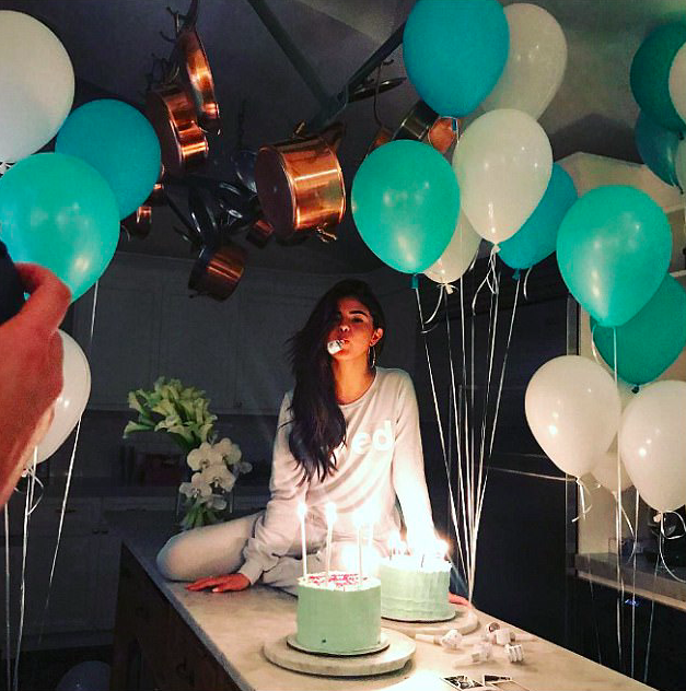 Check out how Selena celebrates her birthday