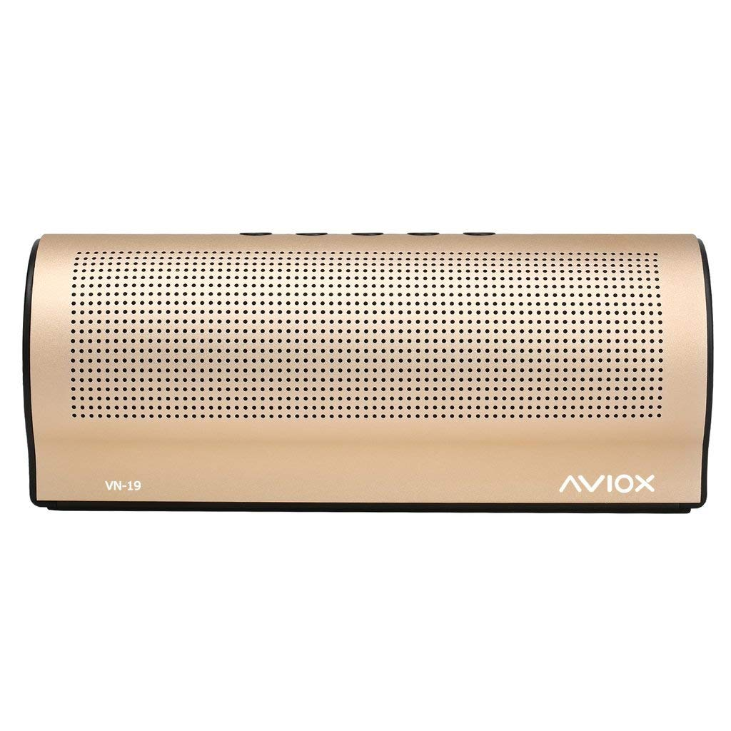 gold bluetooth speaker - wireless dual pairing up to 40w