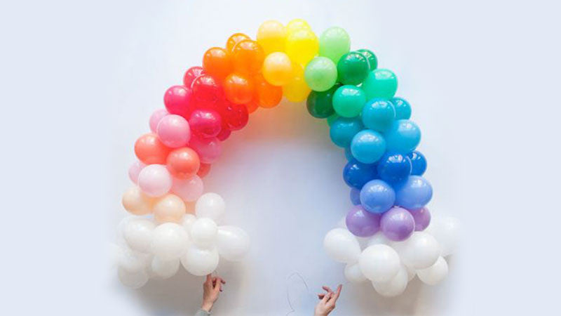 HOW TO: RAINBOW BALLOON ARRANGEMENTS