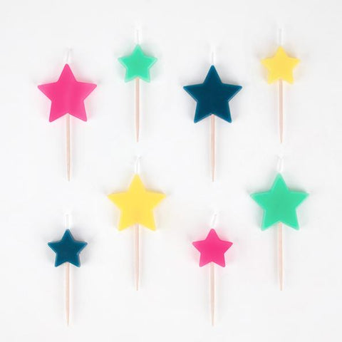 Disco Star Candles