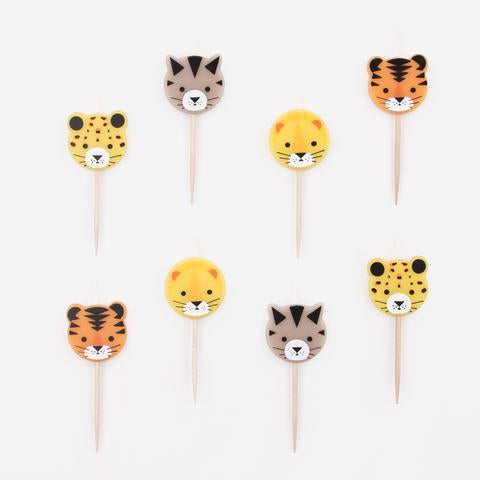 Mini Wild Cats Candles