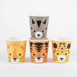 Mini Wild Cat Cups