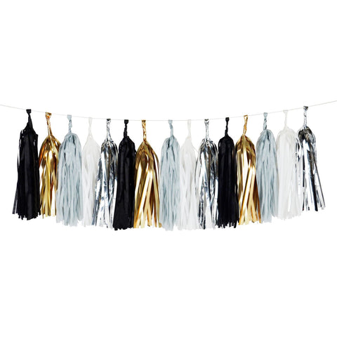 Black with Gold & Silver Tassel Kits