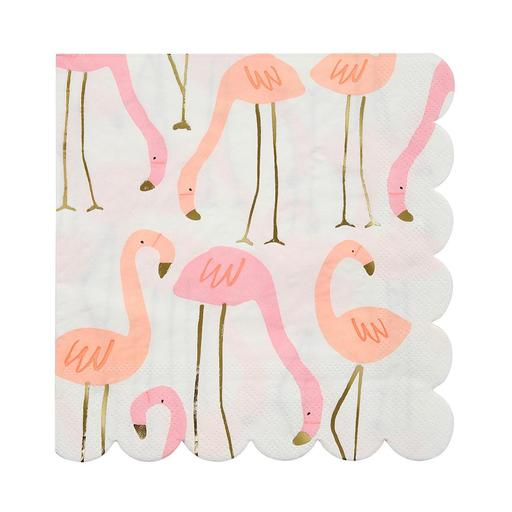 Flamingo Napkins (16 Pack)