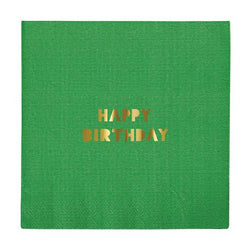 Happy Birthday Napkins (Pack of 16)