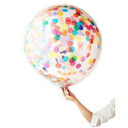Happy Colourful Confetti Jumbo Balloons