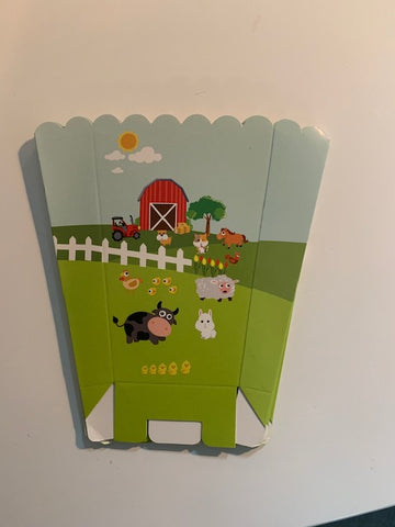 Farmyard Popcorn Boxes
