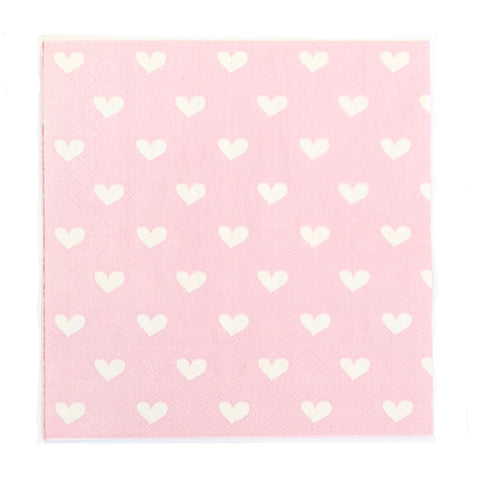 Pink Sweetheart Napkins (20 Pack)