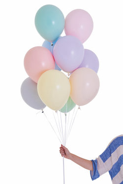 Pastel Sorbet Party Balloons (10 pack)