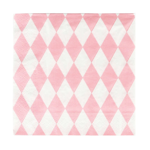 Pink Diamond Napkins (20 Pack)