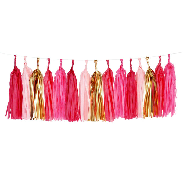 Pink & Gold Tassel Kits